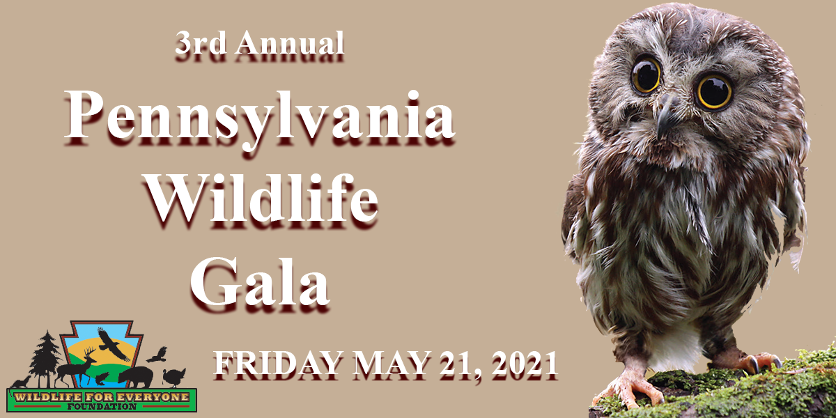 3rd Annual Wildlife Gala, at the Nittany Lion Inn Friday April 23, 2021
