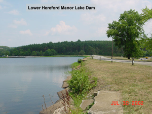 Hereford Manor Lake photo